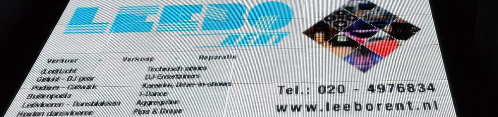 Videovloer.nl is een onderdel van Leeborent Amsterdam